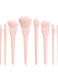 cheap -Professional Makeup Brushes 10pcs Soft Full Coverage Lovely Comfy Plastic for Makeup Tools Eyeliner Brush Blush Brush Foundation Brush Makeup Brush Lip Brush Lash Brush Eyebrow Brush