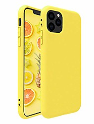 cheap -iphone 11 pro case,colorful yellow slim anti-scratch soft tpu silicone skin frosted protective iphone case for iphone 11 pro 5.8 inch(yellow)