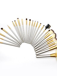 cheap -24 Pcs Beige Makeup Brushes Beauty Tools Champagne Makeup Brush Set Multifunctional Makeup Tool Set