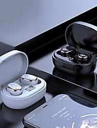 cheap -Joyroom JR-TL1 Bluetooth 5.0 Earphones IPX7 Deep Waterproof Sports True Wireless Headset Fingerprint Touch In Ear Earbuds with Charging Case