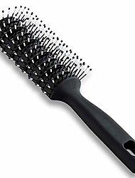 cheap -vent hair brush for blow drying,styling brush vented hairbrush for men and women,mens vented hair brush with ball tipped bristles for wet short curly straight hair blow drying quickly