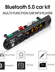 cheap -kebidu Bluetooth 5.0 Receiver Car Kit MP3 Player Decoder Board Color Screen FM Radio TF USB 3.5 Mm AUX Audio For Iphone XS