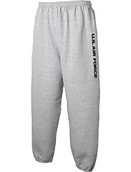 cheap -air force sweat pants - military style physical training sweat pants in gray - medium