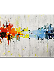 cheap -Mintura Large Size Hand Painted Modern Abstract Oil Painting on Canvas Wall Art Picture For Home Decoration No Framed