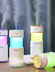 cheap -New Car Essential Oil Diffuser Mini Ultrasonic Pulling humidifier LED Night Light USB Aromatherapy Fogger humidifiers