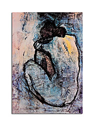 cheap -100% Hand painted Oil Painting Picasso Famous Painting Canvas Art Wall Picture for Living Room Decoration Abstract Home Decor Rolled Canvas No Frame Unstretched
