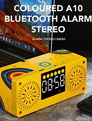 cheap -Bluetooth 5.0 Stereo Speaker FM Radio Boombox Subwoofer Speaker Portable Speakers MP3 Play Super Bass Column Subwoofer