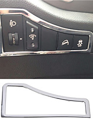 cheap -NEW Car Accessories ABS Chrome Inner Head Light Lamp Switch Cover Trim For Kia Sportage R 2011-2015 car styling