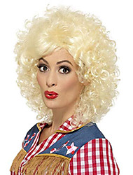 cheap -rodeo doll wig costume accessory