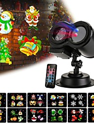 cheap -Christmas Projector Lights with 12 Slides Patterns LED Disco Light Night Scape Lighting Outdoor Party Waterproof Lights Garden Landscape Lamp Holiday Birthday Wedding Party Christmas Valentine's Day
