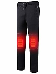 cheap -electric heated warm pants,electric usb heating pants intelligent constant temperature heated trousers,couple models plus velvet thickening heating base layer elastic trousers