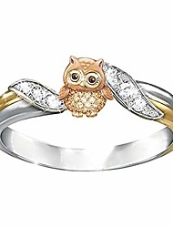 cheap -mebamook fashion rings for women silver round bridal ring jewelry diamond ring gifts engagement wedding anniversary ring,owl 5