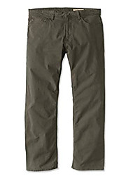 cheap -men's 5-pocket stretch twill pants, olive, 34, inseam: 32 inch