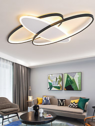 cheap -50cm 60cm LED Ceiling Lamp Round Square Household Atmosphere Living Room Lamp Fashion Bedroom Lamp Modern Simple Dining Room Lamp Study Lamp