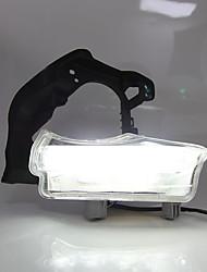 cheap -2Pcs LED Car Front Bumper LED Daytime Running Lights Lamp Fog Light Car Styling For Toyota Highlander 15-18