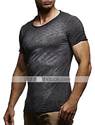 cheap -leif nelson men's oversize t-shirt basic washed sweatshirt vintage shirt slim fit ln6281-1; x-large, anthracite