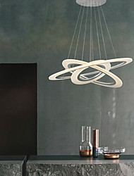 cheap -Pendant Light Ambient Light Others Metal Acrylic LED, Designers 110-120V / 220-240V Warm White / Cold White LED Light Source Included / LED Integrated