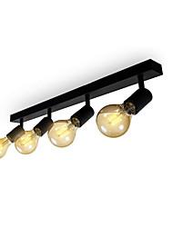cheap -2/4 Heads LED Ceiling Light Porch Aisle Corridor Vintage Classic Nordic Geometric Shapes Flush Mount Lights Metal Painted Finishes 30cm 60cm 110-120V 220-240V