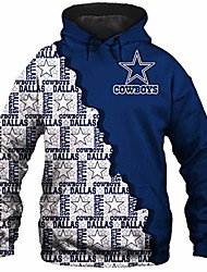 cheap -american football team 3d printed men's hoodies pullover sweatshirt with pocket
