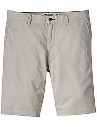 cheap -mens jackson chino silm fit short: outdoor hiking stretch shorts, stone, 38w 10in