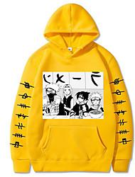 cheap -Inspired by Naruto Naruto Uzumaki Uchiha Itachi Cosplay Costume Hoodie Polyester / Cotton Blend Graphic Printing Hoodie For Women's / Men's