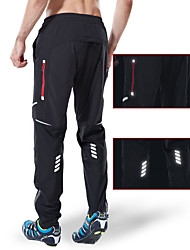cheap -Men's Cycling Pants Hiking Pants Outdoor Breathable Moisture Wicking Quick Dry Anatomic Design Sports Elastane Pants Trousers Bottoms Black Camping Hiking Fishing Mountain Bike MTB Road Bike Race Fit