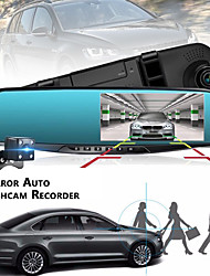 cheap -1080p HD / Dual Lens Car DVR 120 Degree Wide Angle 4.3 inch TFT Dash Cam with GPS / G-Sensor / motion detection No Car Recorder / Loop recording / Auto-Power On