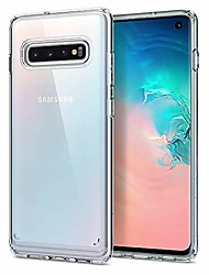 cheap -ultra hybrid designed for samsung galaxy s10 case (2019) - crystal clear
