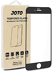 cheap -iphone 8 plus / 7 plus screen protector, full screen tempered glass screen protector film, edge to edge protection screen cover saver guard for apple iphone 8 plus/iphone 7 plus 5.5 inch -black