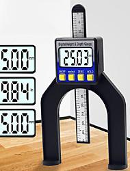 cheap -Digital display woodworking table saw height ruler 0-80mm depth ruler height depth measuring tool digital vernier caliper