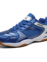 cheap -Men's Trainers Athletic Shoes Sporty Athletic Tennis Shoes Mesh PU Non-slipping Blue Winter