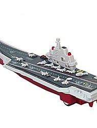 cheap -aircraft carrier toy military vehicle die-cast metal battleship mini pull back model warship with lights and sounds