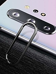 cheap -mobile phone protective film for galaxy note 10 0.15mm 9h border membrane round edge rear camera lens tempered glass film guard circle,easy installation (color : black)