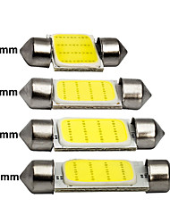 cheap -1x Festoon 31mm 36mm 39mm 41mm C5W C10W LED COB Bulb 12SMD 12V 7000K Car Interior Dome Reading Luggage Light Super Bright White