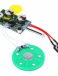 cheap -recordable voice module, greeting card chip 4mins diy recordable greeting card module light sense voice sound record chip portable audio video light activated voice chip(loop play)