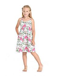 cheap -girl luau elastic strap dress in flamingo in love white 8