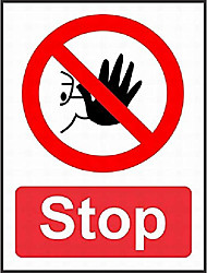 cheap -tin sign new aluminum metal sign safety stop 8x12 inch