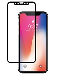 cheap -3d full cover tempered glass back protector for iphone x (rear)