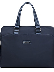 cheap -Men's Bags PU Leather Leather Shoulder Messenger Bag Laptop Bag Briefcase Handbags Daily Outdoor Black Blue