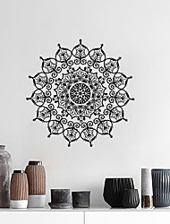 cheap -Creative Personality Flower Of Life Mandala Culture Yoga Home Background Decoration Can Be Removed Stickers 57*57CM