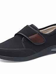 cheap -men's air cushion adjustable walking shoes, winter extra wide comfy elderly warm outdoor sneakers for swollen feet, elderly, diabetic, oedema