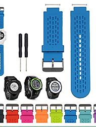 cheap -Smart Watch Band for Garmin 1 pcs Sport Band Silicone Replacement  Wrist Strap for Garmin Vivoactive Acetate Garmin Approach S2 Garmin Approach S4