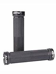 cheap -bike handle grips,non-slip bicycle grip,dual lock-on bicycle handlebar grips,bicycle parts for mountain road bikes mtb (black)