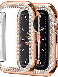 cheap -Compatible with apple watch For iWatch Apple Watch Series SE / 6/5/4/3/2/1  44 mm 40 mm 38 mm 42mm pc protective frame cover