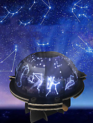 cheap -Handmade Puzzle Assembly Toys New Music Star Projection Lamp
