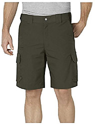 cheap -men's stretch ripstop tactical cargo shorts, tactical green, 32