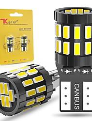 cheap -2pcs W5W T10 LED Bulbs Canbus For Car Parking Position Lights Interior Light For BMW VW Mercedes Audi A3 8P A4 6B BMW E60 E90