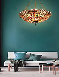 cheap -5-Light 50cm(20 Inch) Mini Style Pendant Light Metal Shell Inverted Others Tiffany 110-120V 220-240V