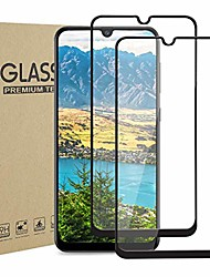 cheap -[2-pack] galaxy a20 a30 a50 screen protector,hd clear anti-scratch bubble free anti-fingerprints 9h hardness tempered glass for galaxy a20/a30/a50 6.4 inch