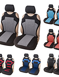 cheap -2PCS Universal Car Seat Covers - Front Seat Covers Mesh Sponge Interior Accessories T Shirt Design - for Car/Truck/Van